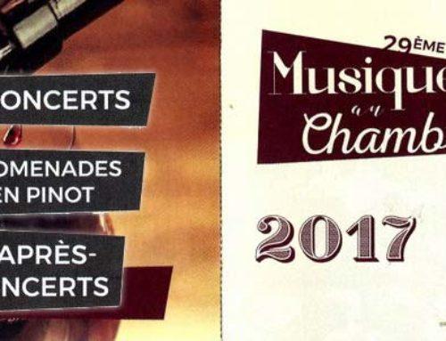 Musique au Chambertin