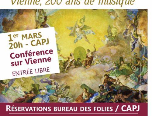 Les Musicales 2018 à Fontaine les Dijon – «Vienne 200 ans de musique»