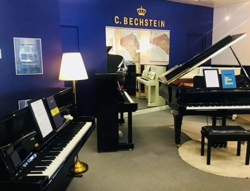 Nouveau salon C. Bechstein au magasin