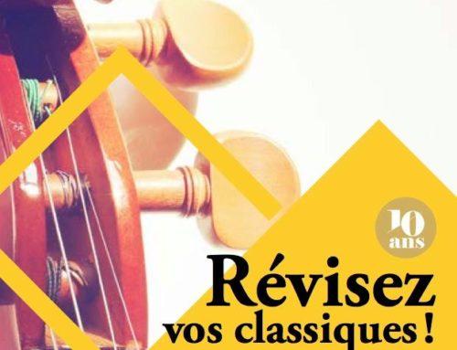 Révisez vos classiques ! un festival des étudiants et professeurs de l'Ecole supérieure de Musique