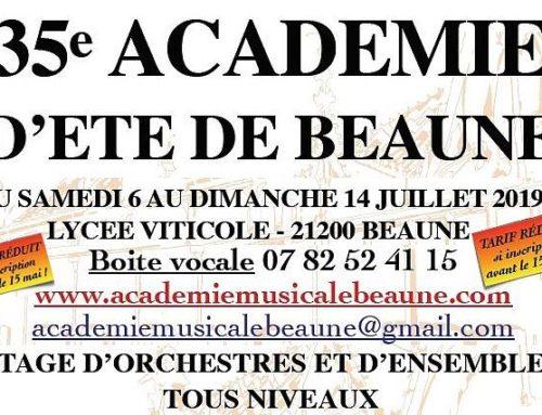 Académie Musicale d'Eté à Beaune (ACEM) – (21)
